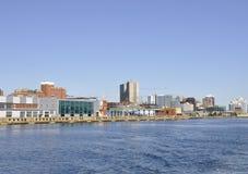 Porto de Halifax fotografia de stock royalty free