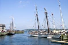 Porto de Halifax, Canadá imagens de stock royalty free