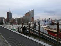 Porto de Hamburgo Alemanha Fotos de Stock