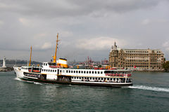 Porto de Haydarpasa Foto de Stock