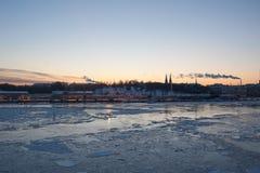 Porto de Helsínquia imagens de stock royalty free