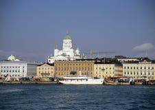 Porto de Helsínquia fotografia de stock