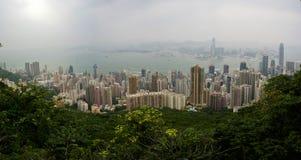 Porto de Hong Kong Imagem de Stock Royalty Free