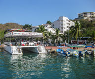 Porto de Huatulco imagens de stock