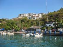 Porto de Huatulco fotos de stock royalty free
