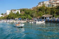 Porto de Huatulco fotografia de stock