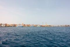 Porto de Hurghada em Egito foto de stock royalty free