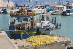 Porto de Iraklion Foto de Stock Royalty Free
