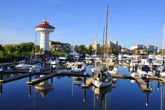 Porto de Ixtapa imagem de stock royalty free