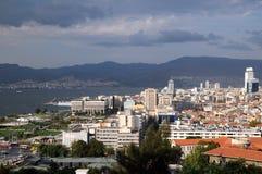 Porto de Izmir antes da tempestade Fotografia de Stock