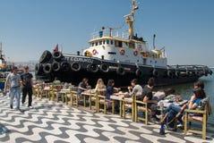 Porto de Izmir, Turquia Fotografia de Stock Royalty Free