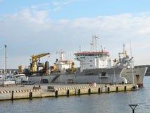 Porto de Klaipeda, Lituânia imagens de stock royalty free