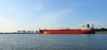 Porto de Klaipeda, Lituânia Imagem de Stock Royalty Free