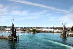 Porto de Konstanz fotos de stock