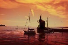 Porto de Konstanz foto de stock royalty free