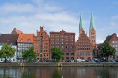 Porto de Lübeck Imagem de Stock Royalty Free