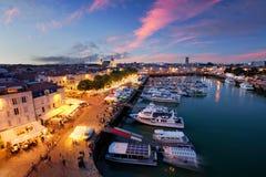 Porto de La Rochelle Fotografia de Stock Royalty Free