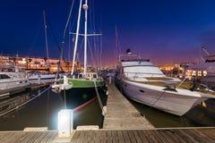 Porto de Lagos, o Algarve, Portugal imagem de stock royalty free