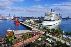 Porto de Las Palmas de Gran Canaria, Espanha imagem de stock royalty free