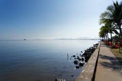 Porto de Lautoka em Fiji imagem de stock royalty free