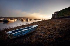 Porto de Le Conquet em Brittany, França Fotografia de Stock