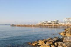Porto de Limassol Foto de Stock Royalty Free