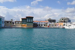 Porto de Limassol Fotografia de Stock Royalty Free