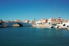 Porto de Limassol, Chipre Imagens de Stock