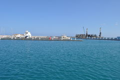 Porto de Limassol em Chipre Imagens de Stock