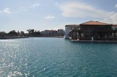 Porto de Limassol em Chipre Foto de Stock