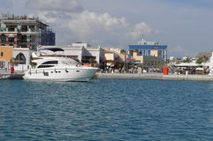 Porto de Limassol em Chipre Imagem de Stock Royalty Free