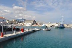 Porto de Limassol em Chipre Foto de Stock Royalty Free