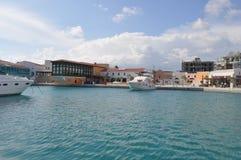 Porto de Limassol em Chipre Fotos de Stock