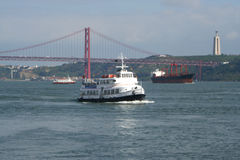 Porto de Lisboa Imagens de Stock