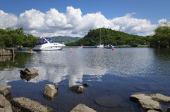 Porto de Loch Lomond Fotografia de Stock