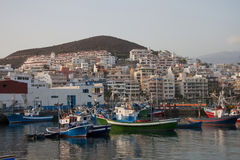 Porto de Los Cristianos, Tenerife Imagem de Stock
