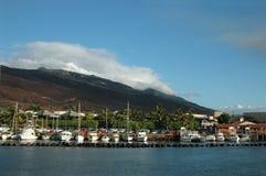 Porto de Maalaea fotografia de stock royalty free