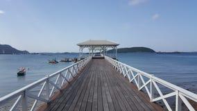 porto de madeira Imagens de Stock