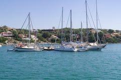 Porto de Mahon em Menorca Fotografia de Stock