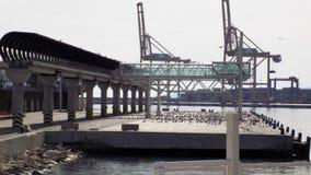 Porto de Malaga-Andaluzia-Europa Fotos de Stock