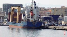 Porto de Malaga-Andaluzia-Europa Imagem de Stock