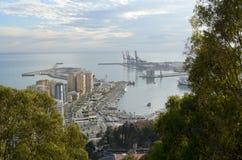 Porto de Malaga (Espanha) Fotos de Stock