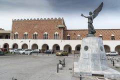 Porto de Mandraki do porto do porto da cidade do Rodes fotos de stock