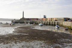 Porto de Margate. Kent. Inglaterra fotos de stock royalty free