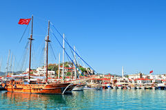 Porto de Marmaris Fotos de Stock Royalty Free