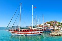 Porto de Marmaris imagem de stock royalty free