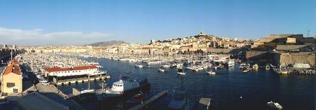 Porto de Marselha Fotografia de Stock