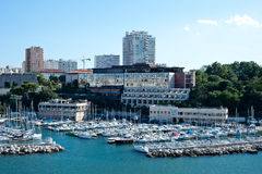 Porto de Marselha Imagem de Stock