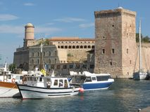 Porto de Marselha Fotos de Stock Royalty Free
