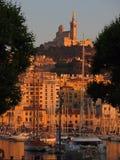 Porto de Marselha Vieux Fotos de Stock Royalty Free